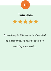 Tom Jom - feedback of our valued customer