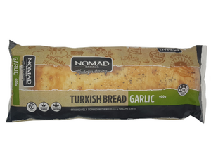 Nomad Garlic Turkish Pide Long 400g - Wild Breads