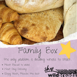 Load image into Gallery viewer, Family Box - Wild Breads