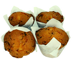 Load image into Gallery viewer, White Chocolate and Hazelnut Muffin (4-Pack) - Wild Breads