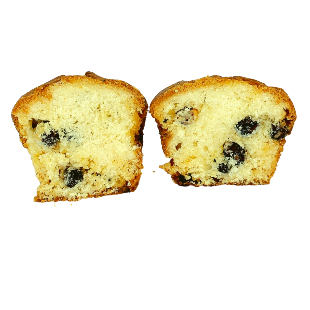 White Chocolate and Hazelnut Muffin (4-Pack) - Wild Breads