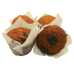 Load image into Gallery viewer, Sour Cherry and Chunky Choc Muffin (4-Pack) - Wild Breads