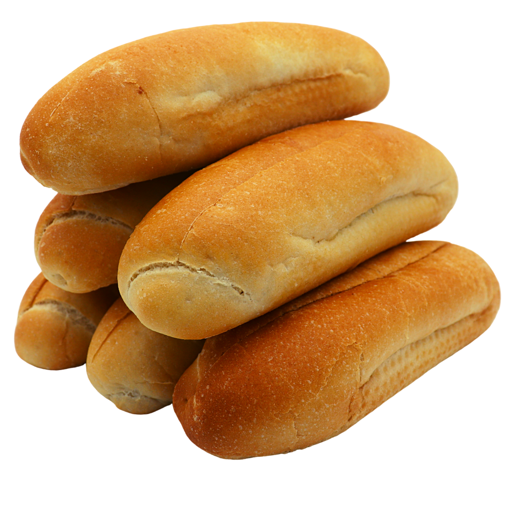 Top Cut Soft Hot Dog Roll (6 Pack) - Wild Breads