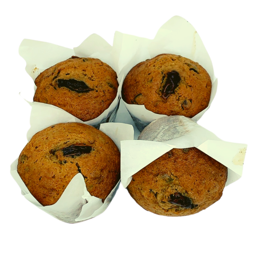 Chai and Date Muffin (4-Pack) - Wild Breads