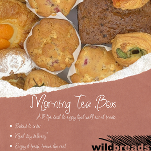 Morning Tea Box - Wild Breads
