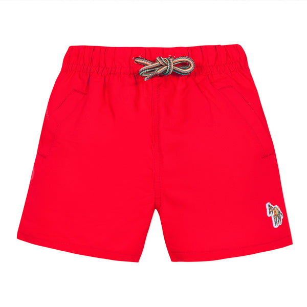 Red swimshorts