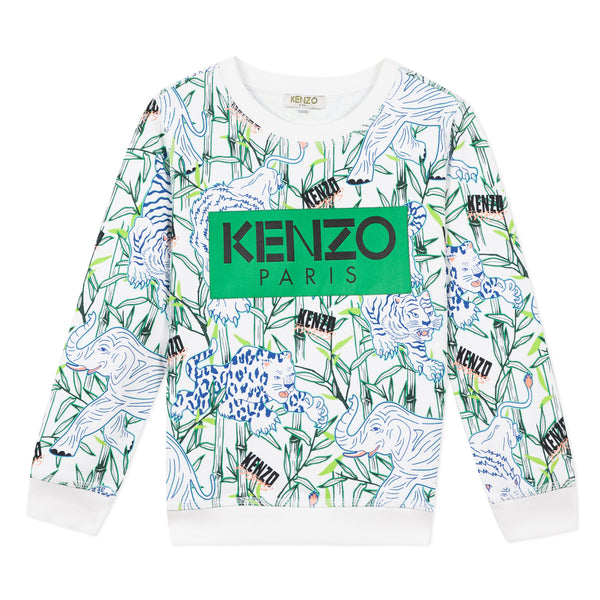 Allover printed Sweatshirt