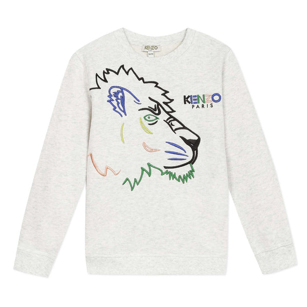 Sweatshirt with Tigers
