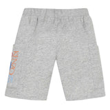 Grey Fleece Bermuda Shorts