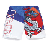 Swimshorts with dragon visual