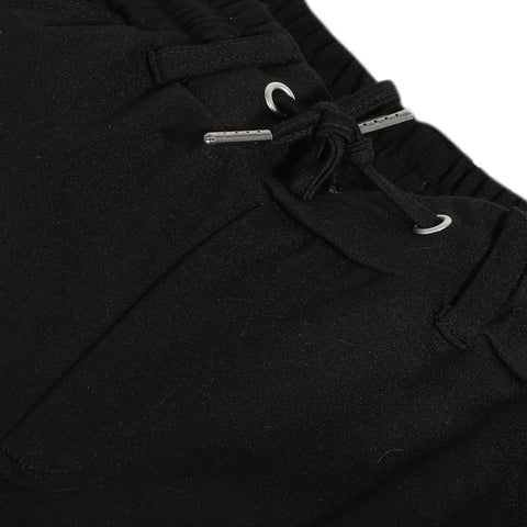 Black milano pants
