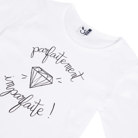 White kid girl t-shirt
