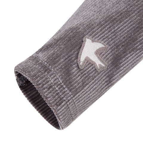 Soft grey baby girl legging