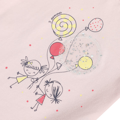 Old pink balloons T-shirt
