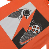 Neon graphic jersey T-shirt