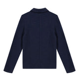 *NEW*  Navy blue fancy fleece jacket