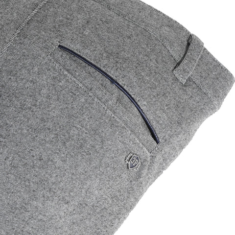 Grey chino fleece pants
