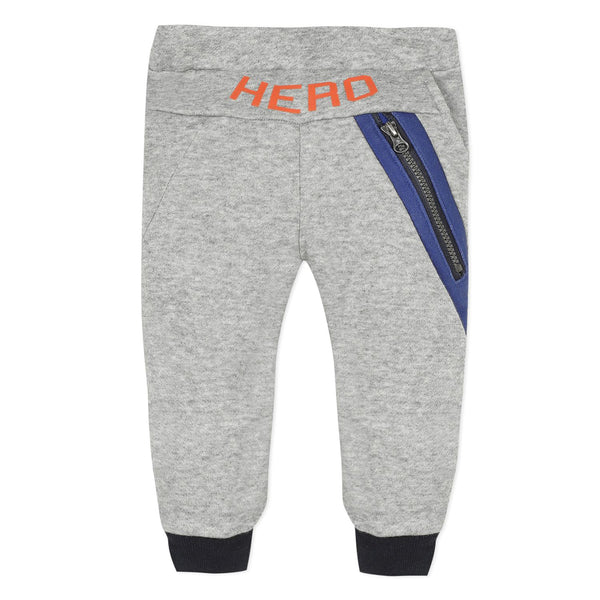 Heather grey fleece joggers