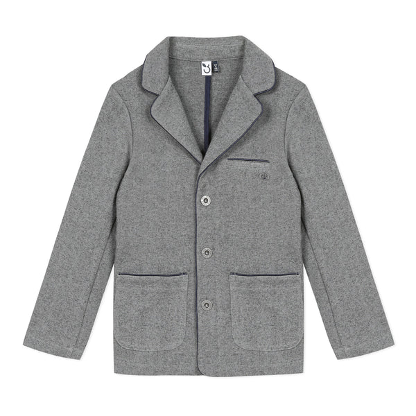 *NEW* Grey fleece special occasion jacket
