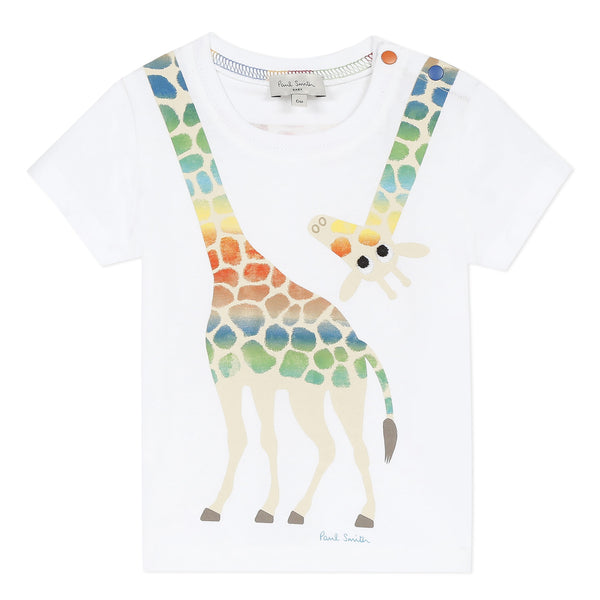 White giraffe T-shirt