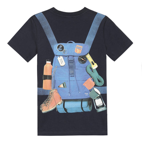 Explorator navy T-shirt