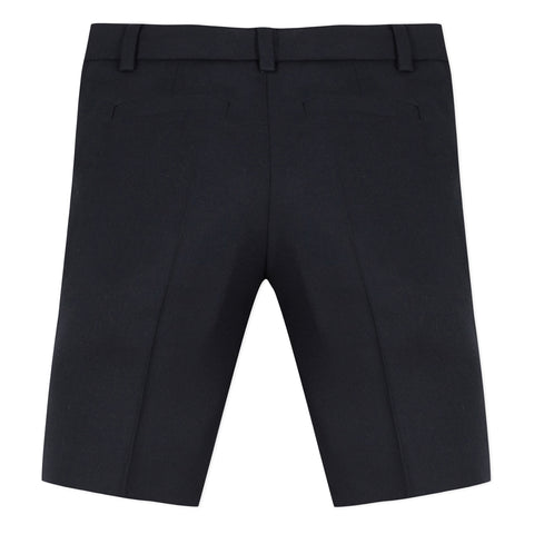 Navy blue suit bermuda shorts