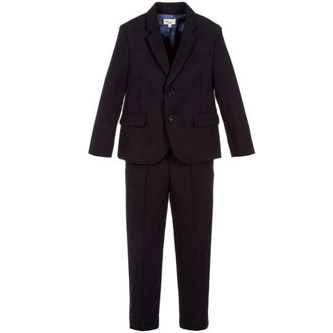 Navy blue suit set