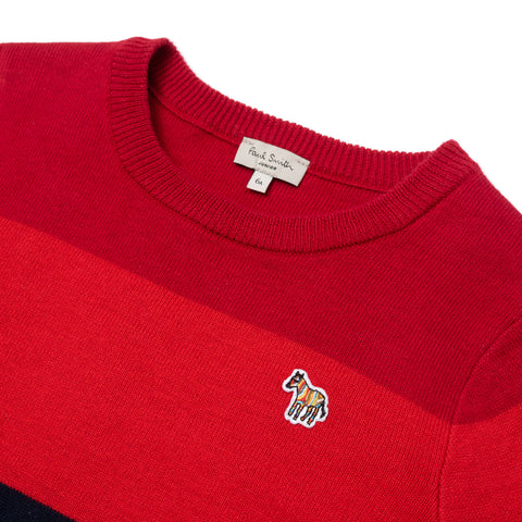 *NEW*  Colorblock cotton cashmere sweater