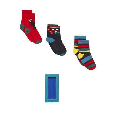 *NEW*  Set of 3 pairs of socks
