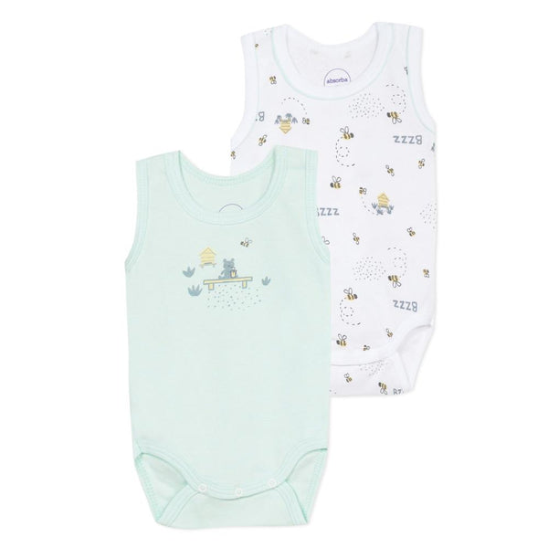 Set of 2 matching bodysuits