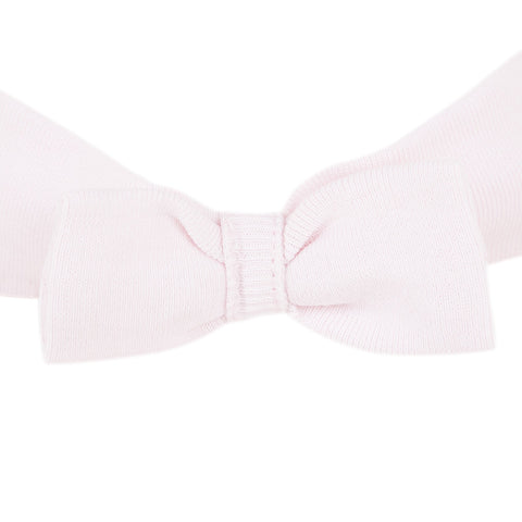 Pink headband with a bow
