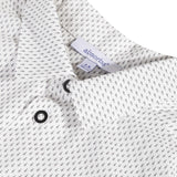 Printed shirt with geometric patterns
