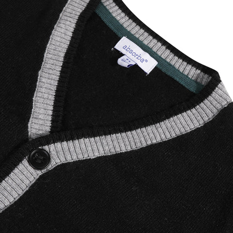 *NEW*  Grey knitted alpaca cardigan