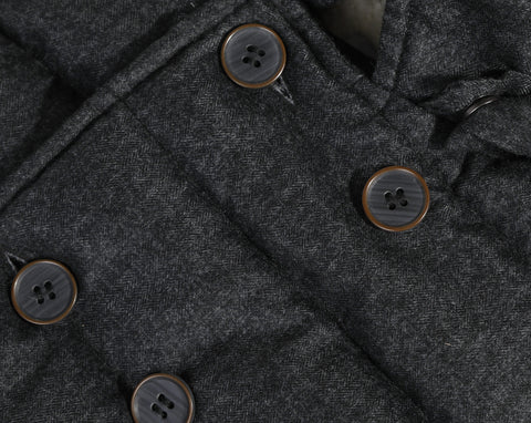 *NEW*  Grey flannel winter jacket