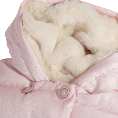 *NEW* Pink hooded winter jacket