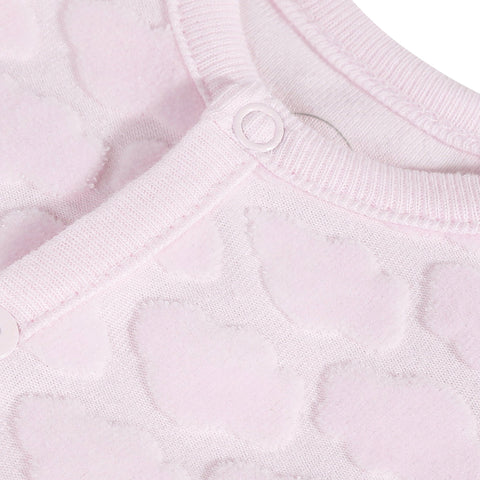 *NEW* Pink allover printed velvet pajamas