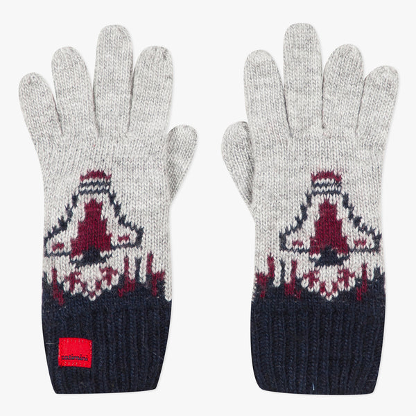 Knitted rocket gloves