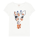 Giraffe short sleeve T-shirt