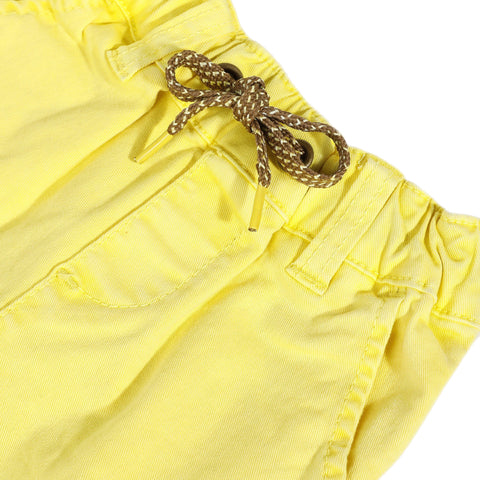 Yellow twill pants