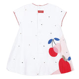 Fruit print bubble dress