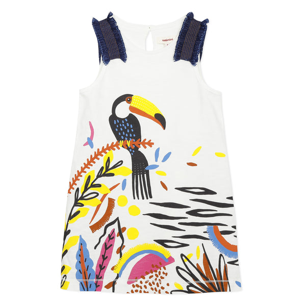 [LAST CHANCE*] Toucan printed dress