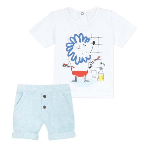 [LAST CHANCE*] T-shirt and jersey shorts set