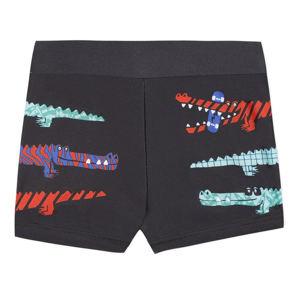 Alligator swim shorts