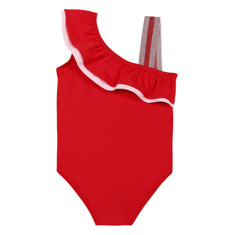 [LAST CHANCE*] Red ruffle swimsuit