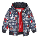 Graphic print jacket
