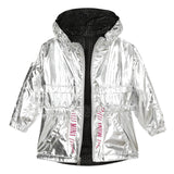 *NEW* Reversible silver parka