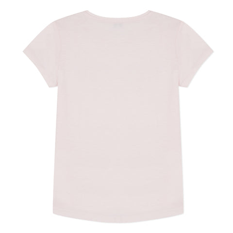 Pink T-shirt with logo