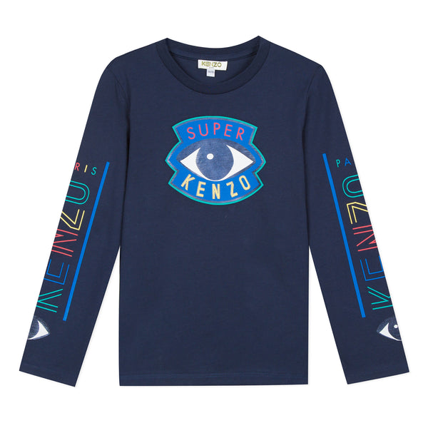 Navy Blue T-shirt with eye