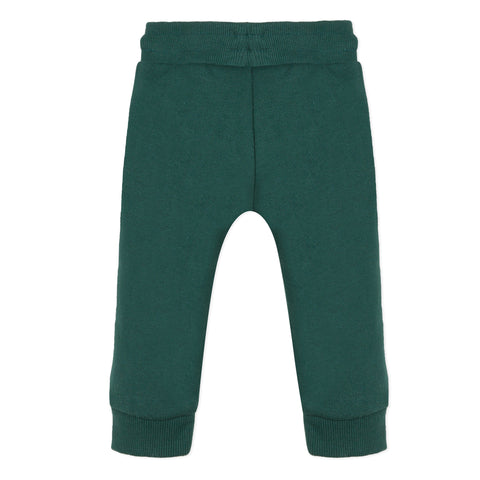 Dark green jogger pants