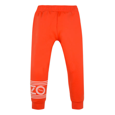 Red jogger pants